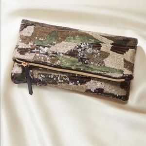 Margeaux camo clutch